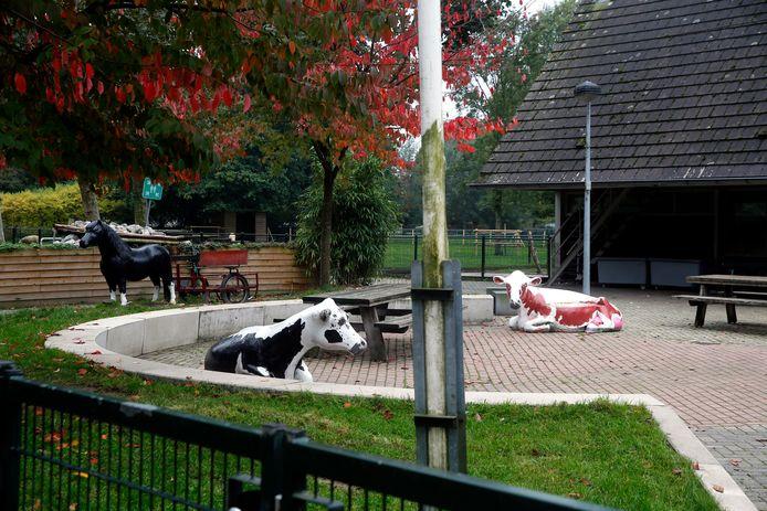 De kinderboerderij in Sliedrecht, waar Nelly jarenlang doorbracht.