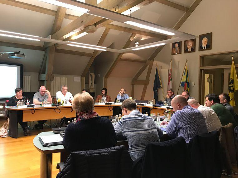 De gemeenteraad van Kortemark sprak zich uit in een geheime stemming
