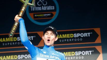 Tiesj Benoot doet schitterende zaak in afsluitende tijdrit, Kwiatkowski wint Tirreno-Adriatico