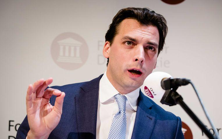 De partij van Thierry Baudet won vorige week de provinciale verkiezingen in Nederland.