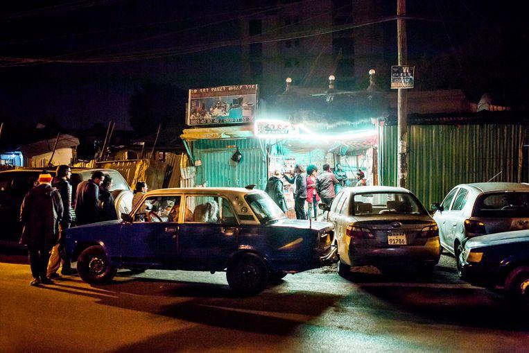 Fendika is de populairste nachtclub van Addis Abeba  Beeld Yvonne Brandwijk