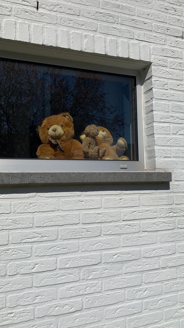 Deze beren maken het gezellig met twee.