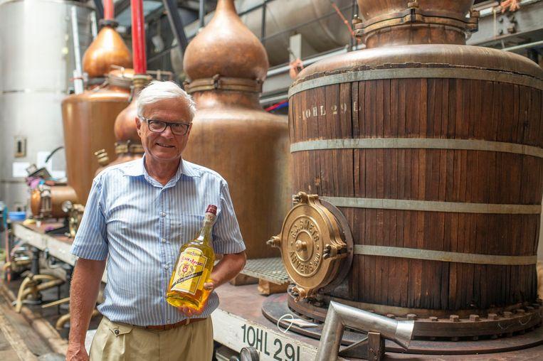 Ivan Nolet stelt zijn Elixir d'Anvers voor.