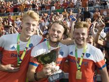 Zes hockeyers Oranje-Rood bij Nederlands team