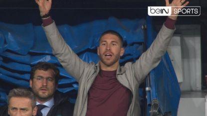 Geschorste Ramos mengt zich in opstootje in spelerstunnel, nieuwe schorsing dreigt