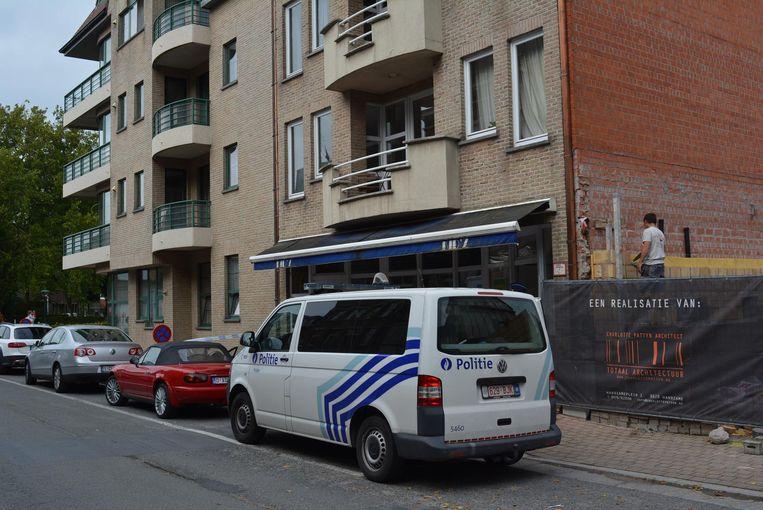 In de Stationsstraat werd vorige week de reconstructie gehouden van de moord.
