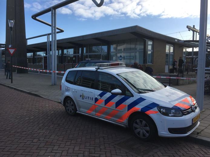 Het station in Oldenzaal is volledig afgezet.