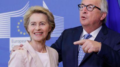 Ook Juncker is niet blij met zijn opvolgster