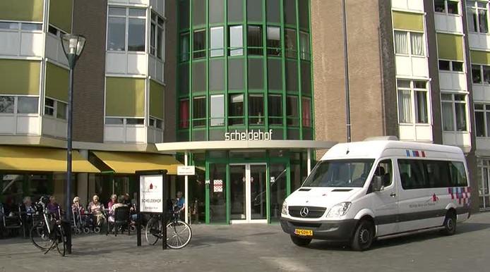 Verpleeghuis Scheldehof in Vlissingen.