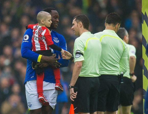 Bradley, vurig supporter van Sunderland, ontmoette ook al Rode Duivel Romelu Lukaku