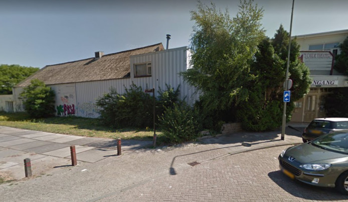 't Oude Theater aan de Bram van den Berghstraat in Oss. Hier zou het te bouwen kantoor voor de ODBN worden gerealiseerd, maar de organisatie concentreert zich nu in Den Bosch.