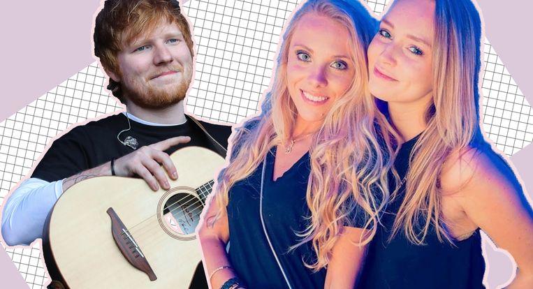 De Antwerpse Montana en haar beste vriendin Athena zijn net als het dochtertje van Ed Sheeran naar een plaats vernoemd.