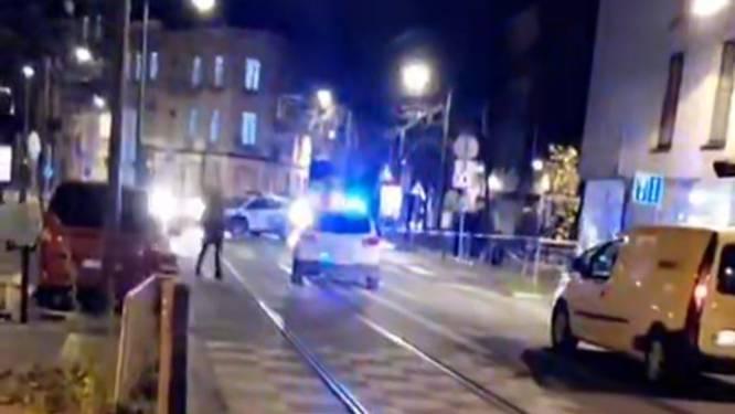 Politie onderzoekt gevecht op straat in Schaarbeek
