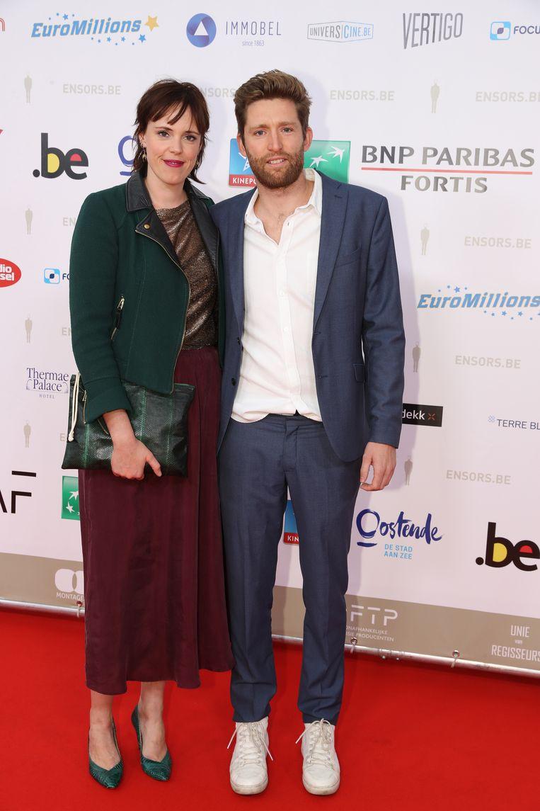 Liesa Naert en haar partner Floris.