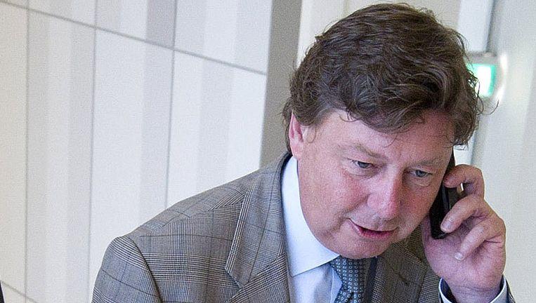 Oud-burgemeester Ricardo Offermanns van Meerssen. Beeld null