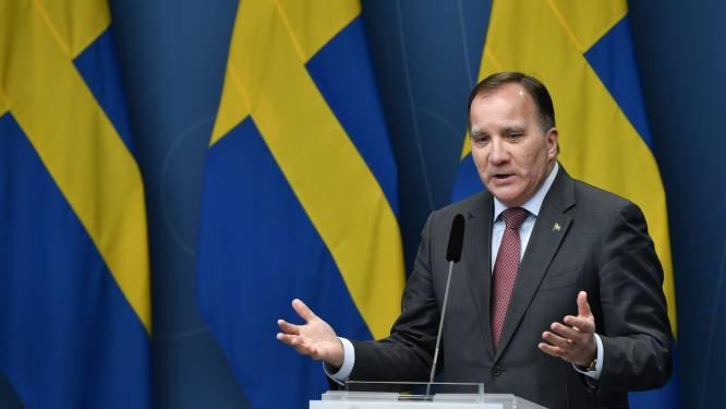 """Zweden """"getest"""" door pandemie, zegt premier in zeldzame televisietoespraak"""