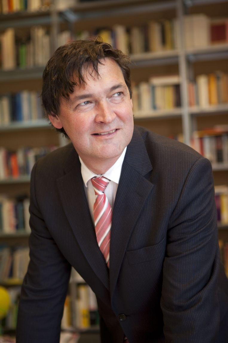 Ton Nijhuis is directeur van het Duitsland Instituut van de Universiteit van Amsterdam. Beeld .