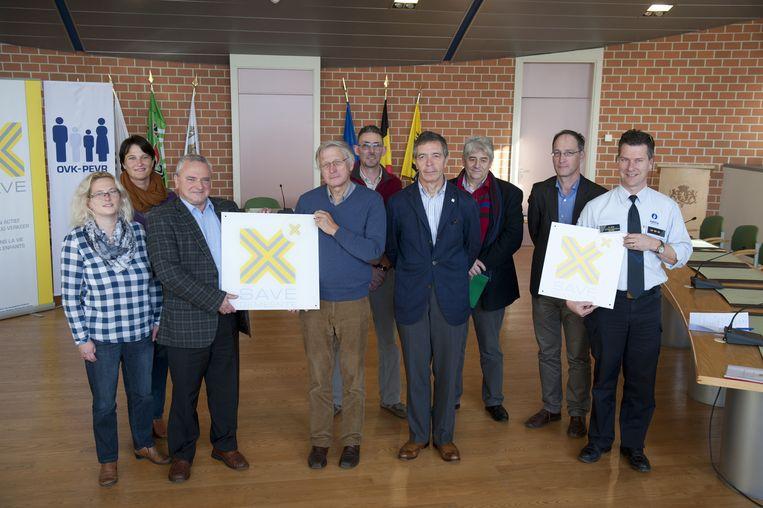 Laarne ontvangt als vijfde gemeente in Vlaanderen het SAVE-label van Ouders van Verongelukte Kinderen.