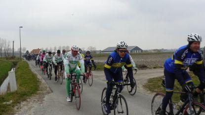 Verbroederingstocht en fietsenzegening wielerclubs Knokke-Heist