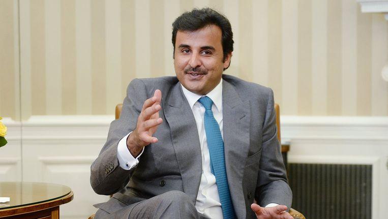 Tamim bin Hamad al-Thani.