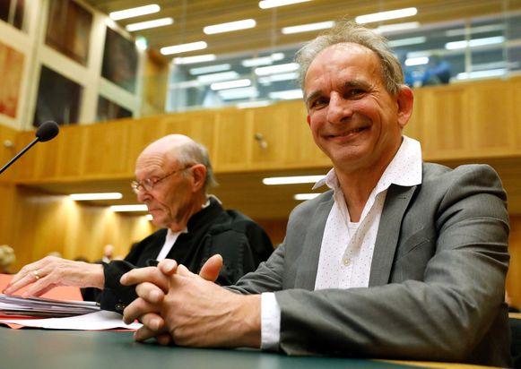 Johan Vlemmix in de rechtszaal.