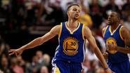 Herstelde Curry leidt Golden State voorbij Portland