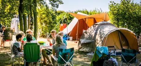 Nederlandse campings razend populair in warme zomermaanden