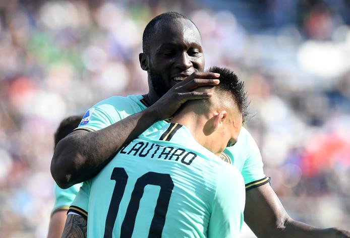Romelu Lukaku-Lautaro Martinez, le duo de choc qui permet à l'Inter de rester dans le sillage de la Juve en tête de Serie A.