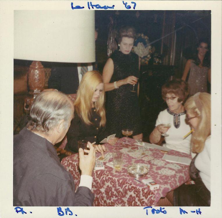 Brigitte Bardot in De Haar Beeld Kasteel de Haar
