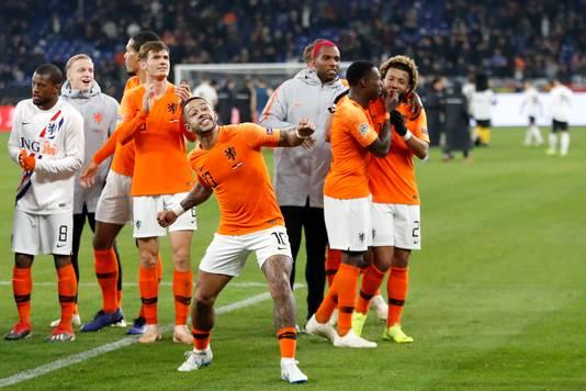 Twee weken geleden was de vreugde nog groot, toen Nederland in extremis een belangrijk punt veilig wist te stellen in en tegen Duitsland.