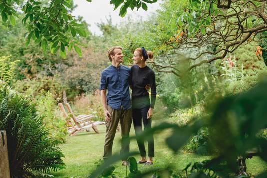Florian en Brenda van Roekel wonnen de BN DeStem TuinAward in de categorie landschapstuinen.