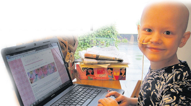 Puck is altijd vrolijk, levendig en actief. Nu moet ze voor een kankerbehandeling naar de VS.