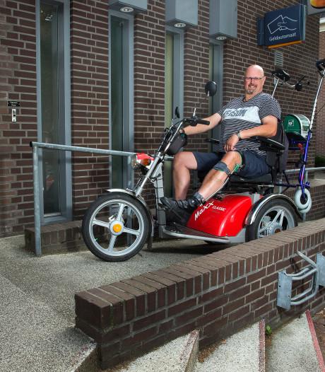 Door app Ongehinderd kan Roy ondanks zijn handicap weer uitgaan zonder nare verrassingen