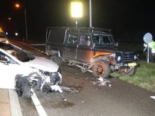 Auto's zwaar beschadigd bij botsing Rondweg Biggekerke