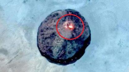 Google Maps-gebruikers spotten enorme vuurbal, maar wat is het precies?