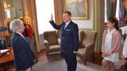 VIDEO. Jurgen Bauwens (CD&V) legt eed af als burgemeester van Waasmunster