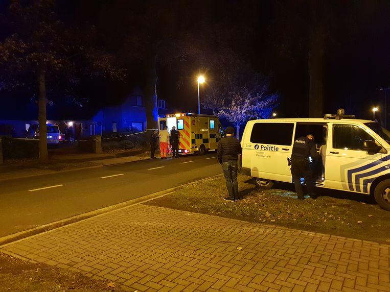 De ambulance moest de inbreker én de bewoner afvoeren.