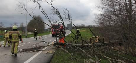Schade in Twente door vierde storm in twee weken