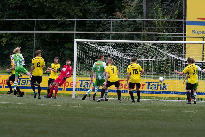 Lunteren ging vorige week met 4-0 onderuit bij ASV Dronten.
