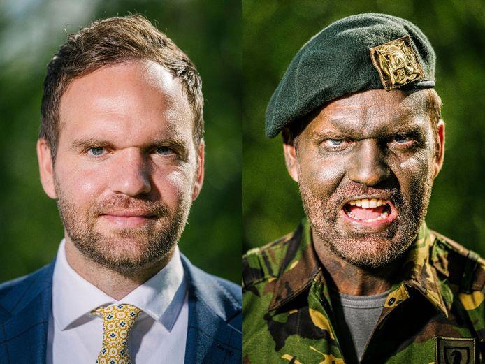 Derk Boswijk is naast zijn werk en de politiek actief als reserve officier bij de landmacht.