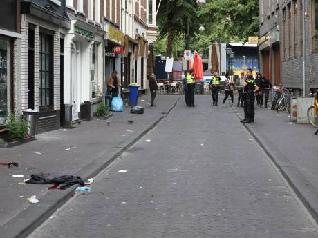Gewonde door steekpartij in centrum Den Haag