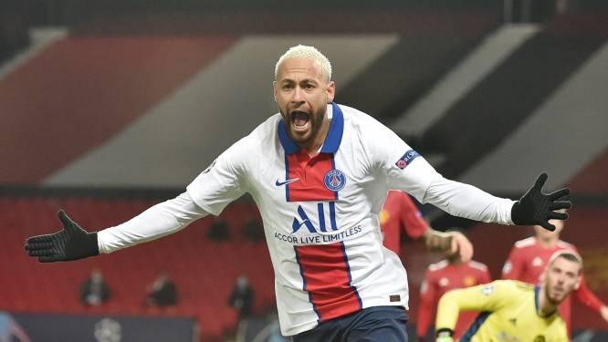 Neymar bezorgt PSG de zege tegen Man United en maakt het zo ongemeen spannend in groep H, Fred antiheld met rood