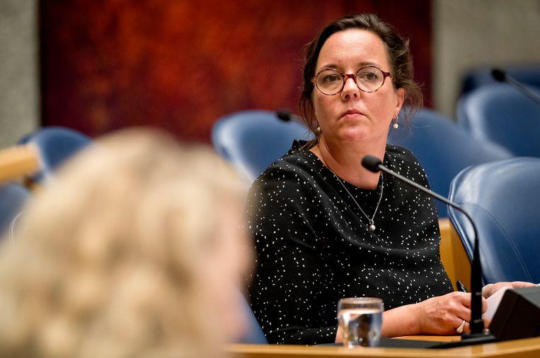 Tamara van Ark, staatssecretaris van Sociale Zaken en Werkgelegenheid, diende onlangs de nieuwe Wajongwet in.  Beeld ANP