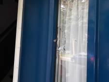 Verdwaalde kogel slaat in voordeur gezin in Tilburg: 'We hebben veel geluk gehad'