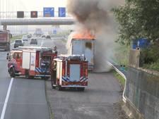A4 eindelijk weer helemaal vrijgegeven na flinke vrachtwagenbrand