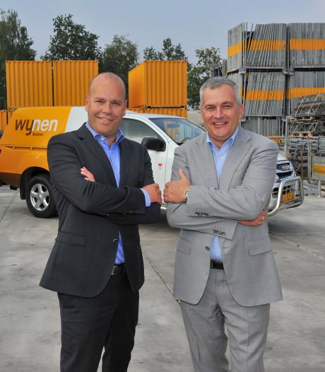 Maas en Holleman zijn duo-kapiteins bij bouwer Wijnen in Someren