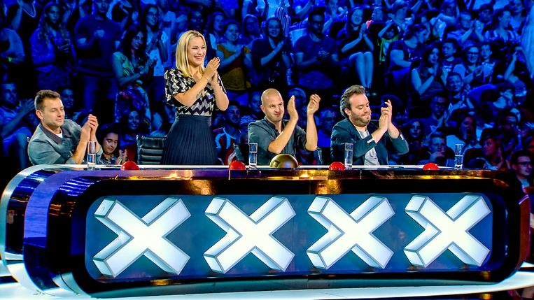 Belgium's Got Talent, seizoen 6 , aflevering 6 op vrijdag 18 oktober 2019 bij VTM. Op de foto : de jury