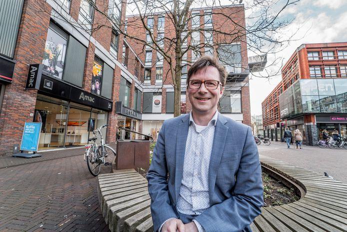 Wethouder Stephan Brandligt (duurzaamheid) is blij met de toekenning van het geld.