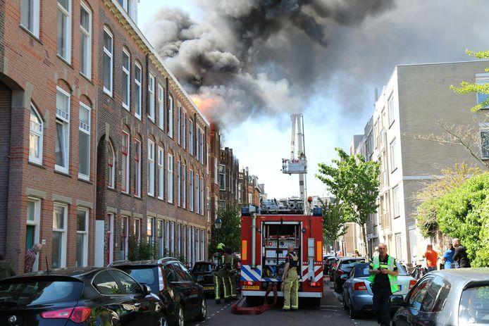 Wat de precieze oorzaak van de brand was, is vooralsnog onbekend.