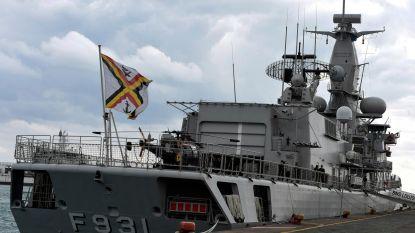 Belgisch fregat Louise-Marie zal voor het eerst Harpoon-raket afvuren
